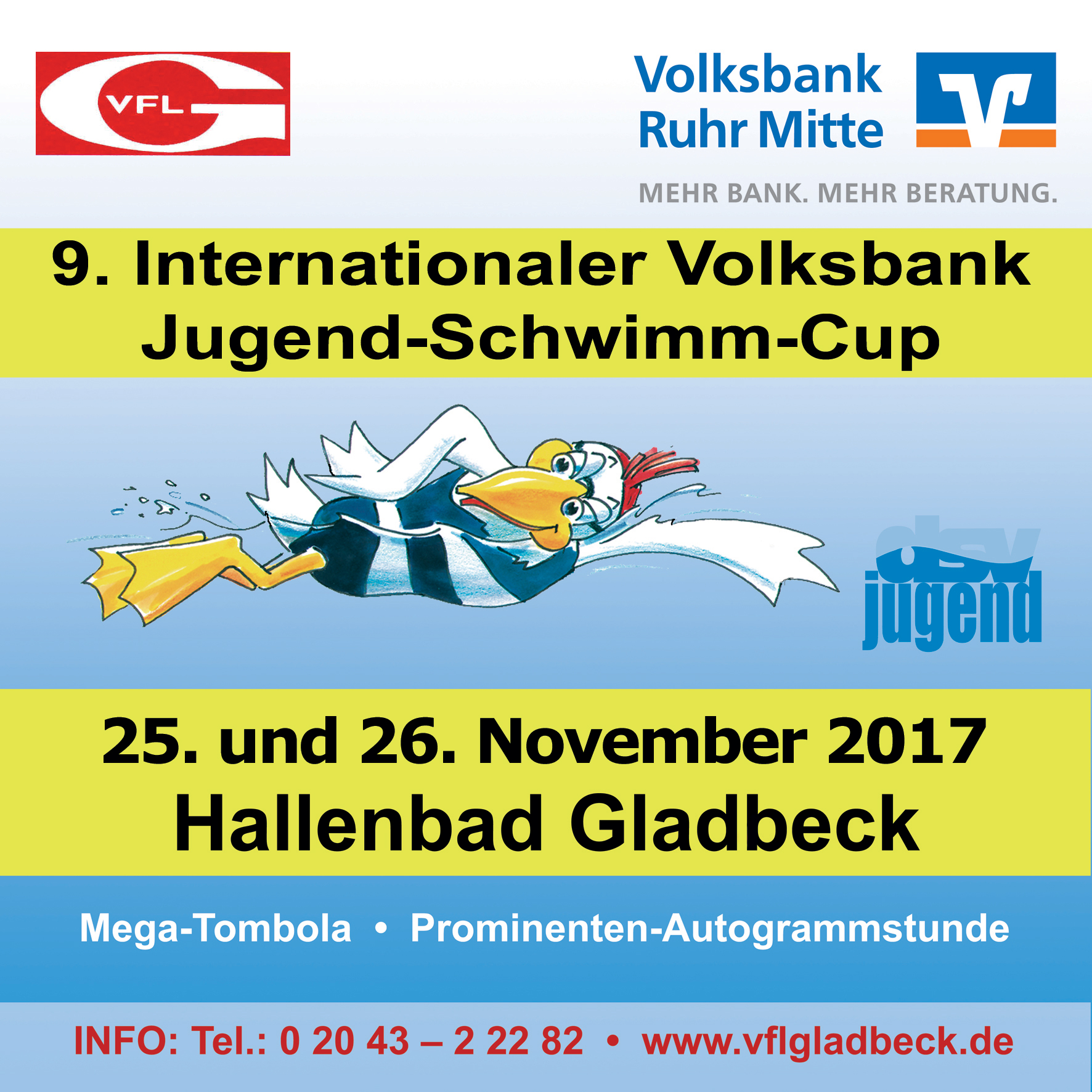 9. Internationaler Volksbank – Jugend Schwimm – CUP ...