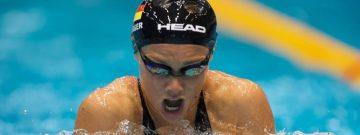 VfL-Topschwimmerin Jessica Steiger sicherte sich bei den Deutschen Meisterschaften in Berlin auch über 100 Meter Brust die Silbermedaille.
